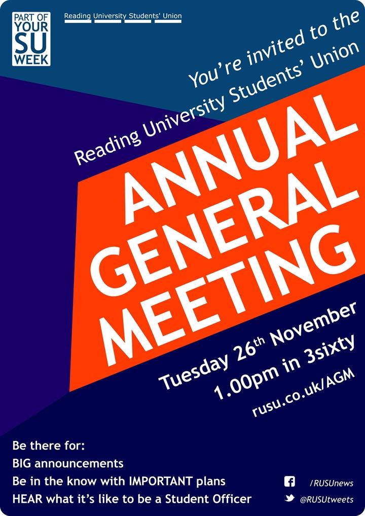 RUSU Annual General Meeting 61a235337b