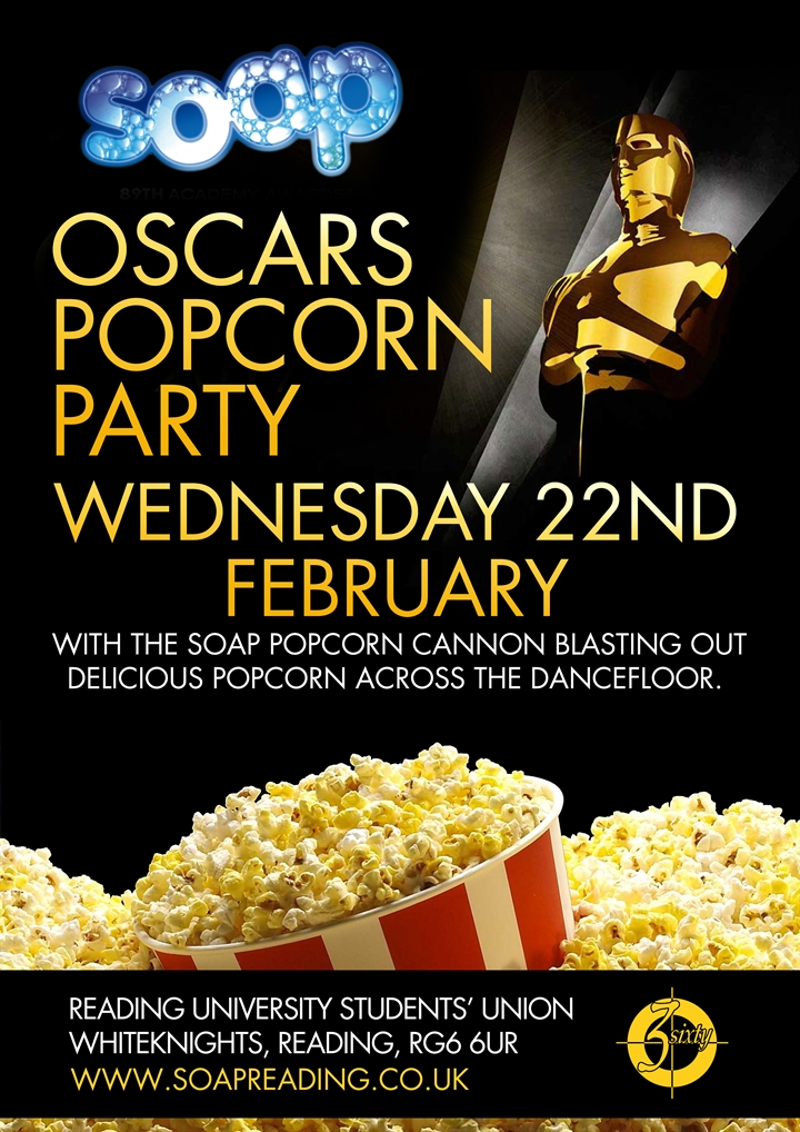 SOAP Oscars Popcorn Party
