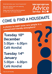 Come and Find a Housemate