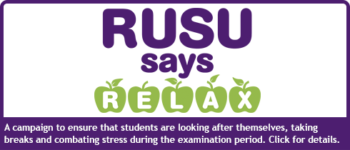 A Campaign to ensure that students are looking after themselves, taking breaks and combating stress