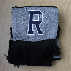 Grey & Black UoR Scarf