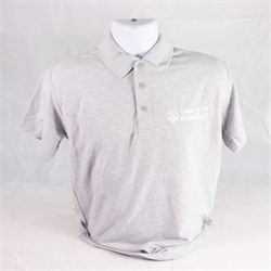Image for Polo Shirt Heather Grey S