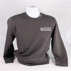 Image for Crested Sweatshirt - Charcoal XS