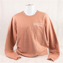 Image for Dusty Pink Crested Sweatshirt XS