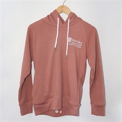 Image for Henley Hoodie Blush Pink XS