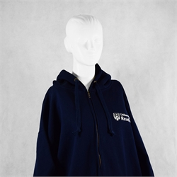Image for Full Zip Standard Hoody Top - Colour Navy XS
