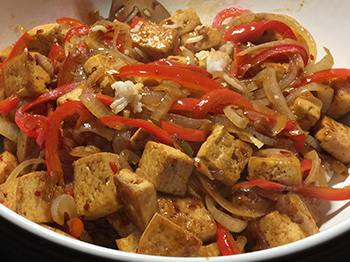 Sweet and Spicy Tofu
