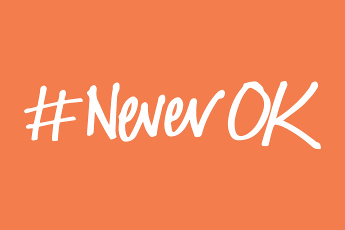 Reading University Students' Union #NeverOK campaign 2019-2020