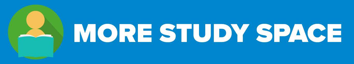 RUSU More Study Space campaign 2017-18