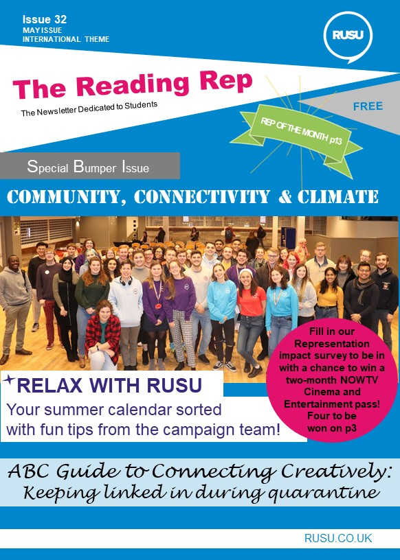 Read issue 32 of the Reading Rep