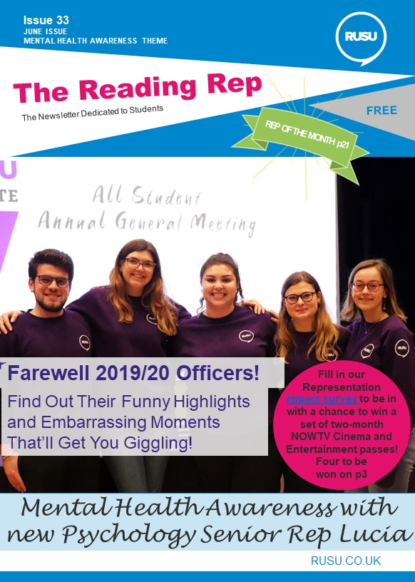Read issue 33 of the Reading Rep
