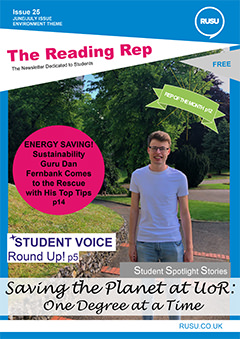 Read issue 25 of the Reading Rep