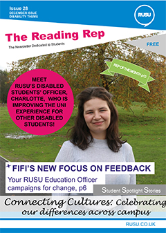 Read issue 28 of the Reading Rep