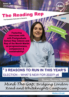 Read issue 29 of the Reading Rep