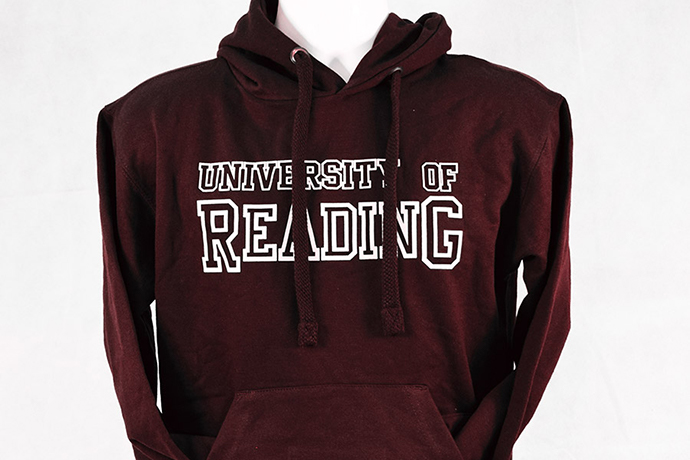University of Reading clothing sold at the RUSU Merch store