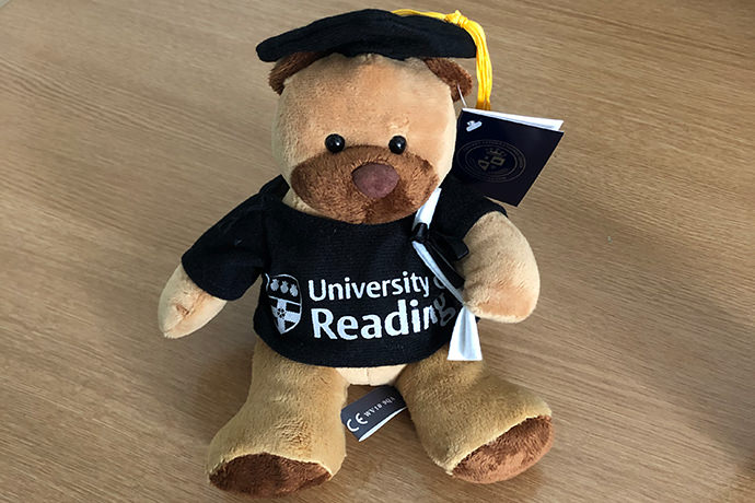 University of Reading graduation gifts sold at the RUSU Merch store
