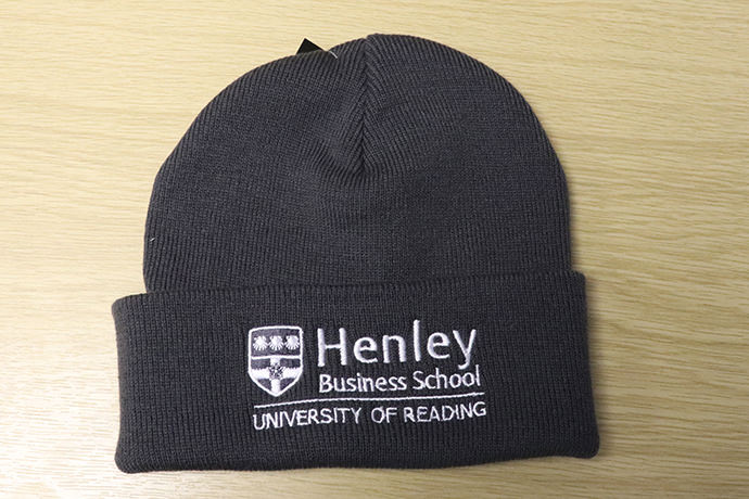 Henley Business School clothing and gifts sold at the RUSU Merch store