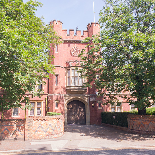Wantage Hall at University of Reading