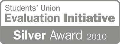Students' Union Evaluation Initiative Silver Award 2010