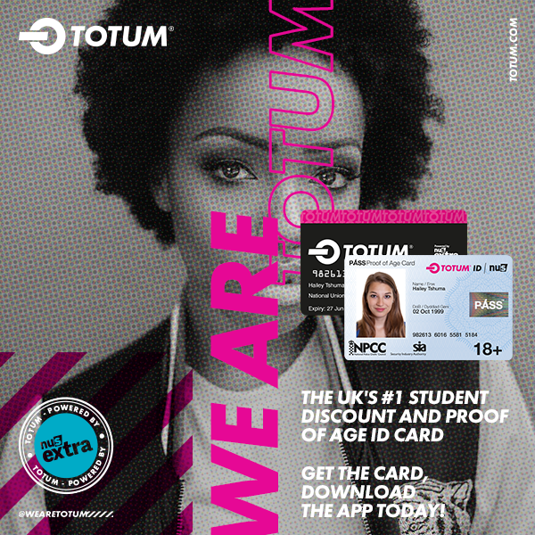 TOTUM cards sold at Reading University Students' Union
