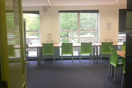 RUSU Study area for students